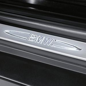 BMW Türeinstiegsleisten Edelstahl beleuchtet für X5 und X6