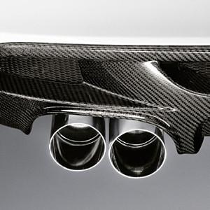 BMW Performance Endrohrblende Chrom 1er E81 E82 E87 E88