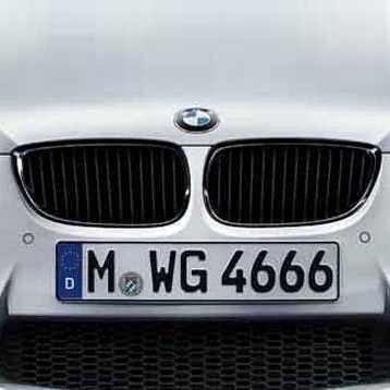 BMW Performance Frontziergitter schwarz M3 E90 E92 E93