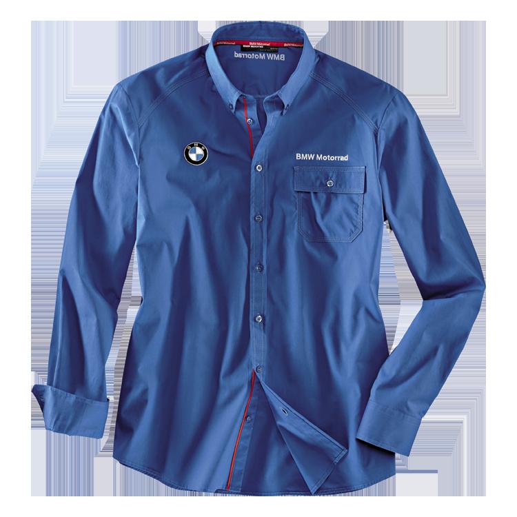 BMW Hemd Logo, Herren, blau