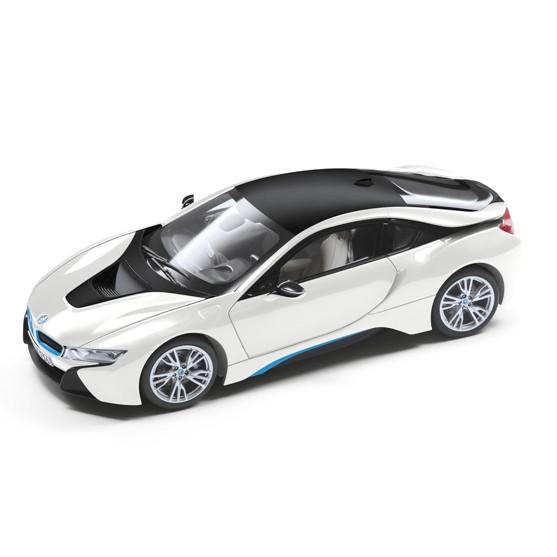 BMW i8 weiß Miniatur 1:18