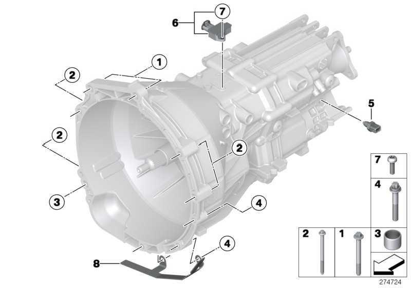 Satz Null-Gang-Sensor  1er 3er 5er X1 X3 Z4  (23147619752)