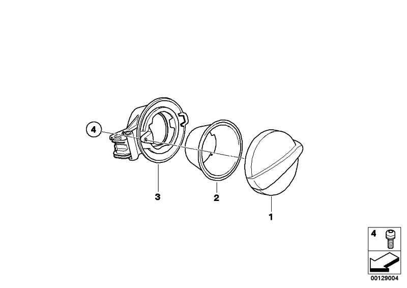 Blende Tankabdeckung grundiert  MINI  (51177076054)