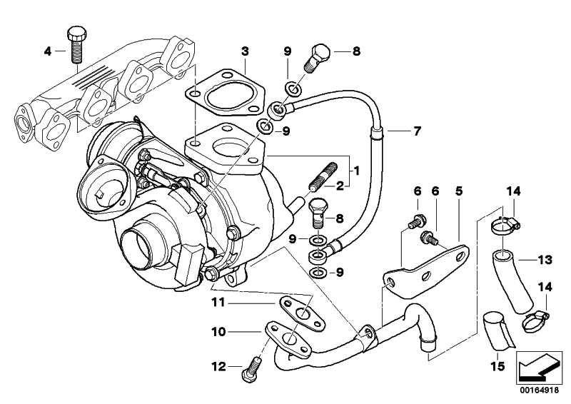 Austausch Turbolader  3er  (11657790994)