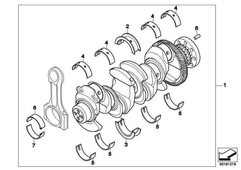 Austausch Kurbelwelle mit Lagerschalen  1er 3er 5er X1 X3 MINI  (11217803479)
