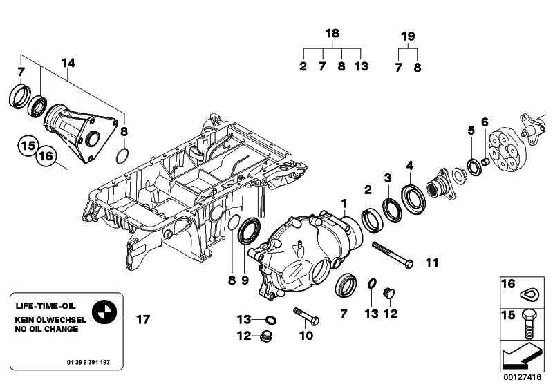 Austausch Vorderachsgetriebe I=43:11=3,91    X5  (31507512665)