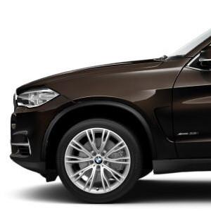 BMW Alufelge Individual V-Speiche 551 glanzgedreht 10J x 20 ET 40 Vorderachse X5 F15 X6 F16