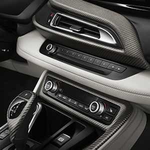 BMW Interieurleisten Carbon i8
