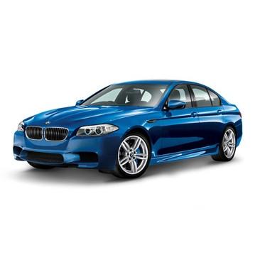 BMW M5 Limousine F10 M blau Miniatur 1:18