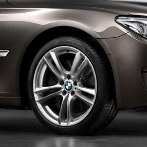 BMW Alufelge M Doppelspeiche 303 10J x 20 ET 41 Silber Hinterachse BMW 7er F01 F02 F04 5er F07