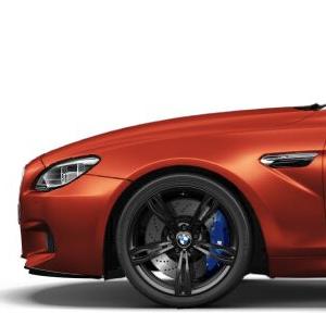 BMW Alufelge M Doppelspeiche 343 geschmiedet schwarz matt 10J x 20 ET 34 Hinterachse 5er M F10