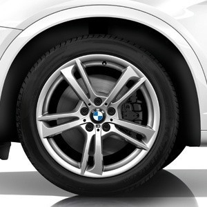 BMW Kompletträder M-Doppelspeiche 369 19 Zoll mit Mischbereifung X3 F25