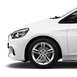 BMW Alufelge M Doppelspeiche 483 silber 7,5J x 17 ET 54 Vorderachse / Hinterachse BMW 2er F45 F46