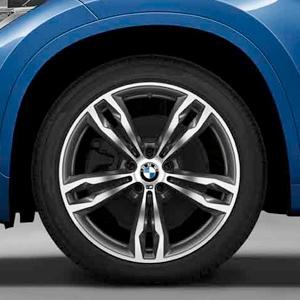 BMW Alufelge M Doppelspeiche 572 8 J x 19 ET 47 orbitgrey 19 Zoll Vorderachse / Hinterachse X1 F48
