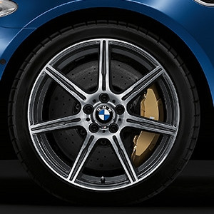 BMW Alufelge M Doppelspeiche 601 10,5J x 20 ET 19 Hinterachse BMW M6 F06, F12, F13