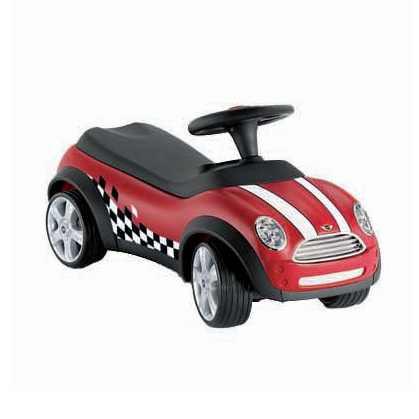 MINI Baby Racer II chilli-rot/schwarz