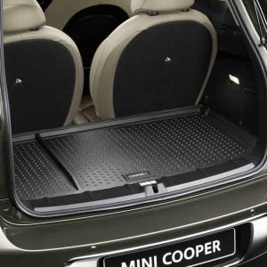 MINI Gepäckraumformmatte mit Cooper S Schriftzug R60 Countryman