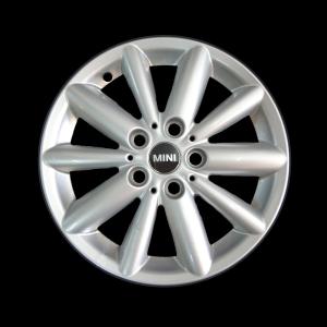 MINI Alufelge Radial Spoke 508 5,5J x 16 ET 46 Silber Vorderachse / Hinterachse MINI F55, F56