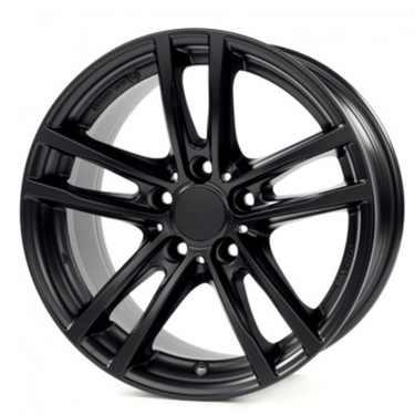 RIAL Winterkompletträder X10 schwarz matt 18 Zoll 5er F10 F11 6er F06 F12 F13
