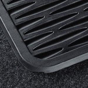 BMW Satz Gummimatten hinten anthrazit, passend für 1er E81 E82