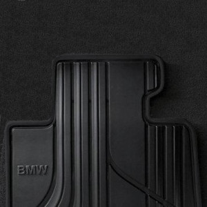 BMW Satz Gummimatten BASIS vorne anthrazit, passend für 3er F30 F31 F34GT mit xDrive