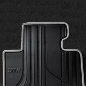 BMW Satz Gummimatten URBAN vorne anthrazit, passend 1er F20 F21 2er F22 F23