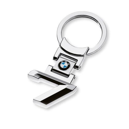 BMW Schlüsselanhänger 7er silber