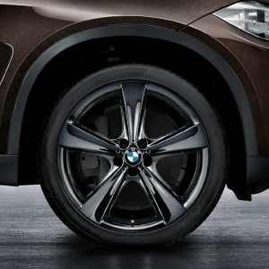 BMW Alufelge Sternspeiche 128 liquid black 11,5J x 21 ET 38 Hinterachse X5 F15