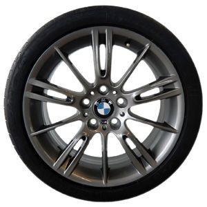 BMW Alufelge M Sternspeiche 193 8,5J x 18 ET 37 Ferricgrey Hinterachse BMW 3er E90 E91 E92 E93