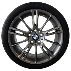 BMW Winterkompletträder M Sternspeiche 193 ferricgrey 18 Zoll 3er E90 E91 E92 E93 ohne Mischbereifung