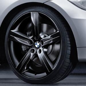 BMW Kompletträder Sternspeiche 199 schwarz 19 Zoll 3er E90 E91 E92 E93