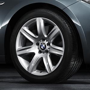 BMW Alufelge Sternspeiche 272 9,5J x 19 ET 39 Silber Hinterachse BMW 5er F07