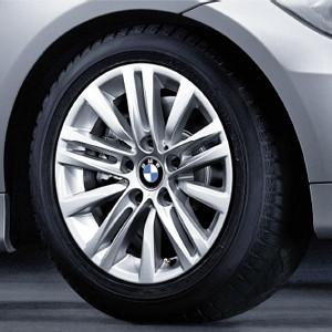 BMW Alufelge Sternspeiche 283 7J x 16 ET 34 Silber Vorderachse / Hinterachse BMW 3er E90 E91