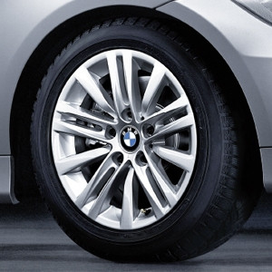 BMW Kompletträder Sternspeiche 283 16 Zoll Silber 3er E90 E91