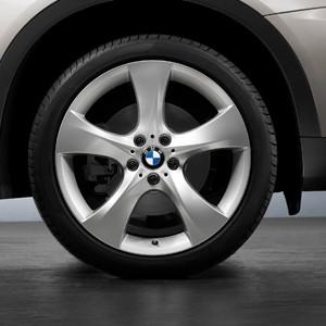 BMW Alufelge Sternspeiche 311 7,5J x 18 ET 49 Silber Vorderachse BMW 1er E81 E82 E87 E88