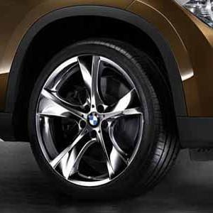 BMW Kompletträder Sternspeiche 311 chrom 19 Zoll X1 E84