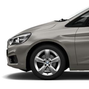 BMW Alufelge Sternspeiche 478 silber 7,5J x 17 ET 54 Vorderachse / Hinterachse BMW 2er F45 F46
