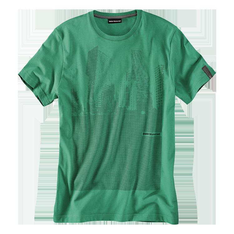 BMW T-Shirt Skyline, Herren, grün