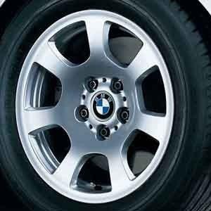 BMW Alufelge Trapezspeiche 134 silber 7J x 16 ET 20 Vorderachse / Hinterachse 5er E60 E61