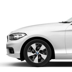 BMW Alufelge Turbinenstyling 406 7J x 16 ET 40 Vorderachse/Hinterachse BMW 1er F20, F21, 2er F22, F23
