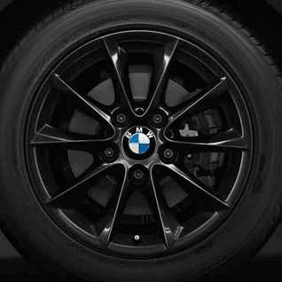 BMW Winterkompletträder V-Speiche 411 schwarz 16 Zoll 1er F20 F21 2er F22 F23