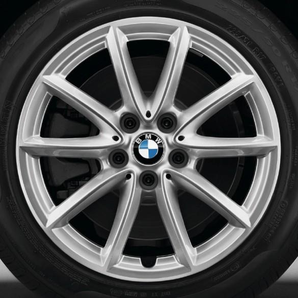 BMW Alufelge V-Speiche 560 silber 7,5 J x 17 ET 52 Vorderachse / Hinterachse X1 F48