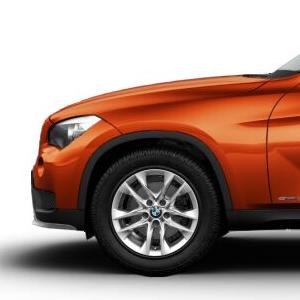 BMW Alufelge V-Speiche 621 7,5J x 17 ET 34 Silber Vorderachse / Hinterachse BMW X1 E84