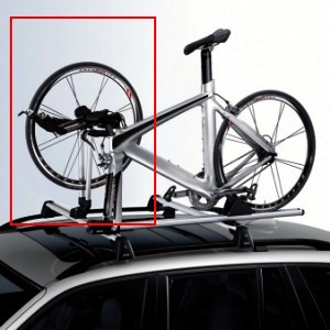 BMW Vorderradaufnahme passend zur Rennradhalterung Art.-Nr.: 82712326514