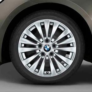 BMW Winterkompletträder Vielspeiche 475 reflexsilber 16 Zoll 2er F45 F46 RDCi
