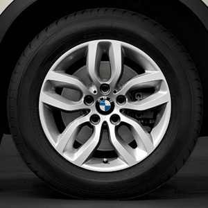 BMW Kompletträder Y-Speiche 305 silber 17 Zoll X3 F25 X4 F26 RDC LC