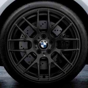 BMW Alufelge M Performance Y-Speiche 359 9J x 19 ET 31 Schwarz matt Vorderachse BMW 1er M E82 3er M E90 E92 E93