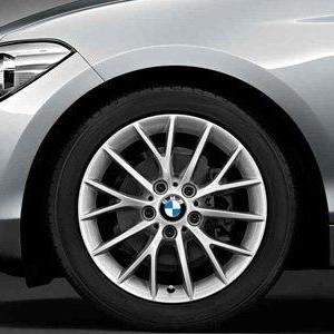 BMW Kompletträder Y-Speiche 380 silber 17 Zoll 1er F20 F21 2er F22 F23