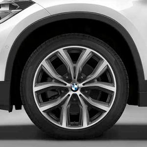 BMW Alufelge Y-Speiche 511 8 J x 19 ET 47 orbitgrey 19 Zoll Vorderachse / Hinterachse X1 F48