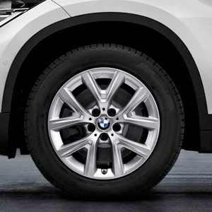BMW Alufelge Y-Speiche 574 silber 6,5J x 17 ET 39 Vorderachse / Hinterachse BMW X1 F48